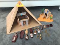 Playmobil pyramid (4240) and sphynix (4240) sets