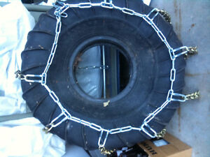 """Brand new carbide chains for up to 47"""" circumference tires"""
