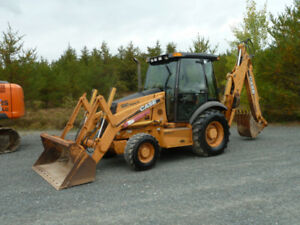 2004 Case 580SM  Backhoe 4x4 ( Special for weekend)