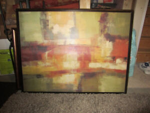 "Large Living Room Canvas 42"" x 32"" from Home Sense"