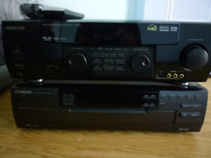 KENWOOD CD Player & Audio Video Surround Receiver