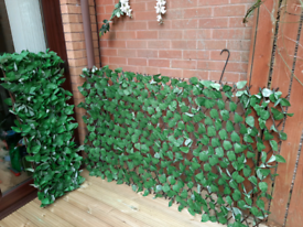 Two Expanding Artificial Leaf Trellis
