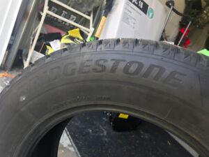 "Bridgestone 17"" winter tires"