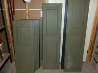 Exterior Panel Shutters