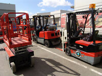 FORKLIFT TRAINING- DGS CANADA  this Weekend