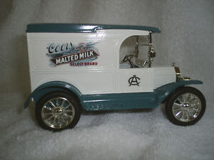 """Collectable Antique – Coors Malted Milk Die Cast  1917 Model """"T"""""""