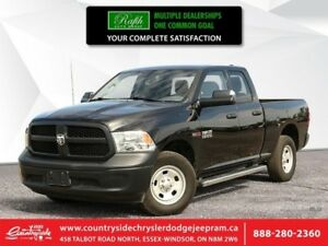 2016 Ram 1500 Tradesman  3.6L V6 - BLUETOOTH - BACKUP CAMERA