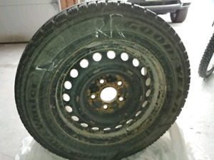 Used Winter tires with rims for sale