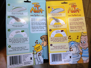 Tip Alert Toilet Seat Alarms - One for the Males & One for Tots Kitchener / Waterloo Kitchener Area image 2