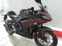 YAMAHA YZF-R3 ABS 320cc A2 CATEGORY SUPERSPORTS BIKE. 0 MILES FOR 70 REG...