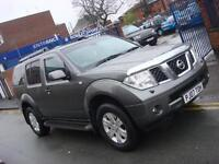 2007 07 PLATE Nissan Pathfinder 2.5dCi 174 AVENTURA Automatic in Grey