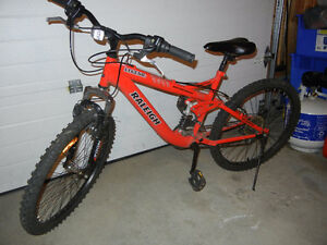 "Raleigh Legend 24"" Full Suspension Mountain Bike"