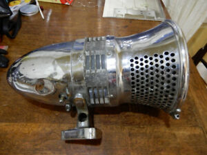 Vintage Siren light made by Sterling for firetruck
