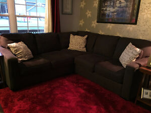 Sectional - Practically new!