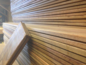 IPE DECKING 5/4x6x4 Grooved