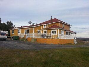 Grande maison de campagne (prix pour vente rapide)
