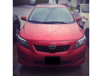 2010 Toyota Corolla Sport - MINT - ONLY 44,000km. Clean Title