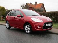 2010 Citroen C3 1.6 HDi 16V EXCLUSIVE 5DR TURBO DIESEL HATCHBACK ** 62,000 MI...