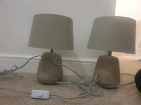Ceramic Lamp Set