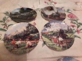Train plates