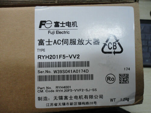 1pc New Fuji Servo Drive Ryh201f5-vv2