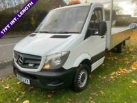 Mercedes Sprinter 314 Cdi (Euro 6) 3.5t. 17ft (5m.) ***EXTRA LONG *** Dropside