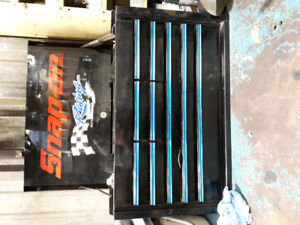 Snap on tool box and Mac air gun