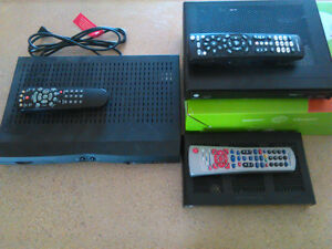 Shaw Direct and Bell receivers