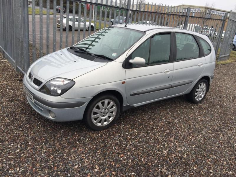 2003 renault scenic 1 9 dti fidji 5dr in kirkcaldy fife. Black Bedroom Furniture Sets. Home Design Ideas