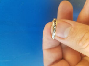 Gold Diamond wedding/promise ring
