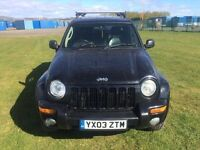 JEEP CHEROKEE 2.5 CRD LIMITED - 2499cc 2003 LONG MOT (timing chain engines)