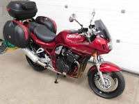Suzuki GSF 1200 BANDIT SPORTS TOURER WITH GIVI MONOKEY LUGGAGE