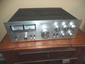 Kenwood KA-6100 Stereo Integrated Amplifier late 70's - PERECT!
