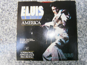 Elvis 45rpm record , My Way/America, Limited Edition Red vinyl