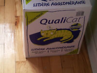 Litière chat 23 kg / Cat litter 50 lb - 5$