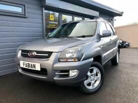 2008 Kia Sportage 2.0 CRDi 4X4 **Full Black Leather - FSH - 4WD**
