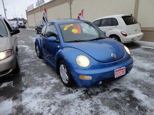 2001 Volkswagen New Beetle GLS Coupe (2 door) E-TESTED&CERT
