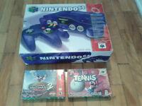 N64 Grape + Mario Tennis + Tony Hawk