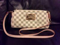 LV cross bag clutch purse Zara MK Chanel style H&M