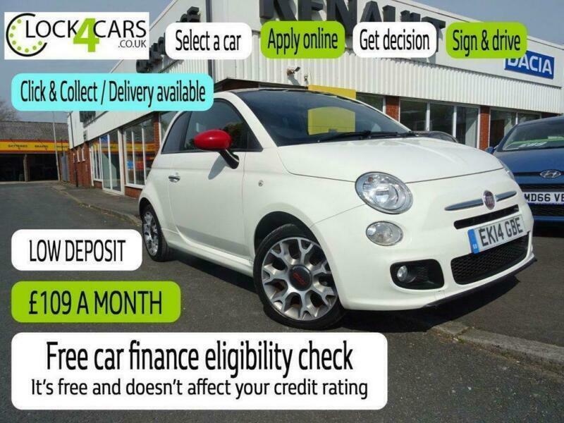 2014 Fiat 500 1.2 S 3d 69 BHP Hatchback Petrol Manual