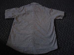 Boys Size 6/7 Short Sleeve checkered Dress shirt Kingston Kingston Area image 4