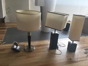 4 luminaires ( Beloeil)