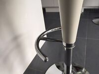 £15 Hydronic bar stool white