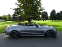 MERCEDES C CLASS 4.0 C63 AMG 7G-TROIC PLUS CONVERTIBLE (PREMIUM PACK) 2017/66