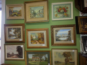 GREAT SELECTION OF ARTWORK
