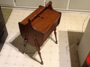 Sewing Box - Solid Wood