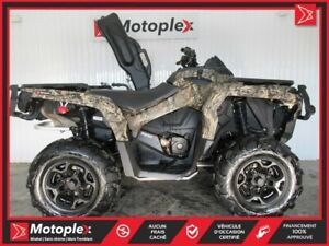 2018 Can-Am Outlander 1000 XT EDITION MOSSY OAK  42$/SEMAINE