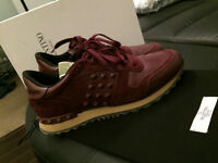 Valentino Men's Sneakers Size 42, Leather / Studs Bought