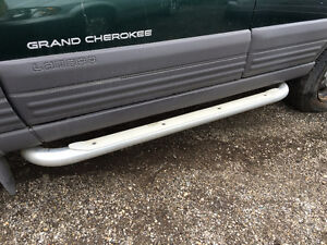 JEEP ALUMINUM STEP BARS AND GRILLE GUARD Kitchener / Waterloo Kitchener Area image 2