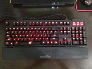 Sentey Crimson Pro Mechanical Gaming Keyboard GS-5920